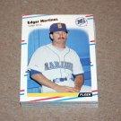1988 FLEER BASEBALL - Seattle Mariners Team Set