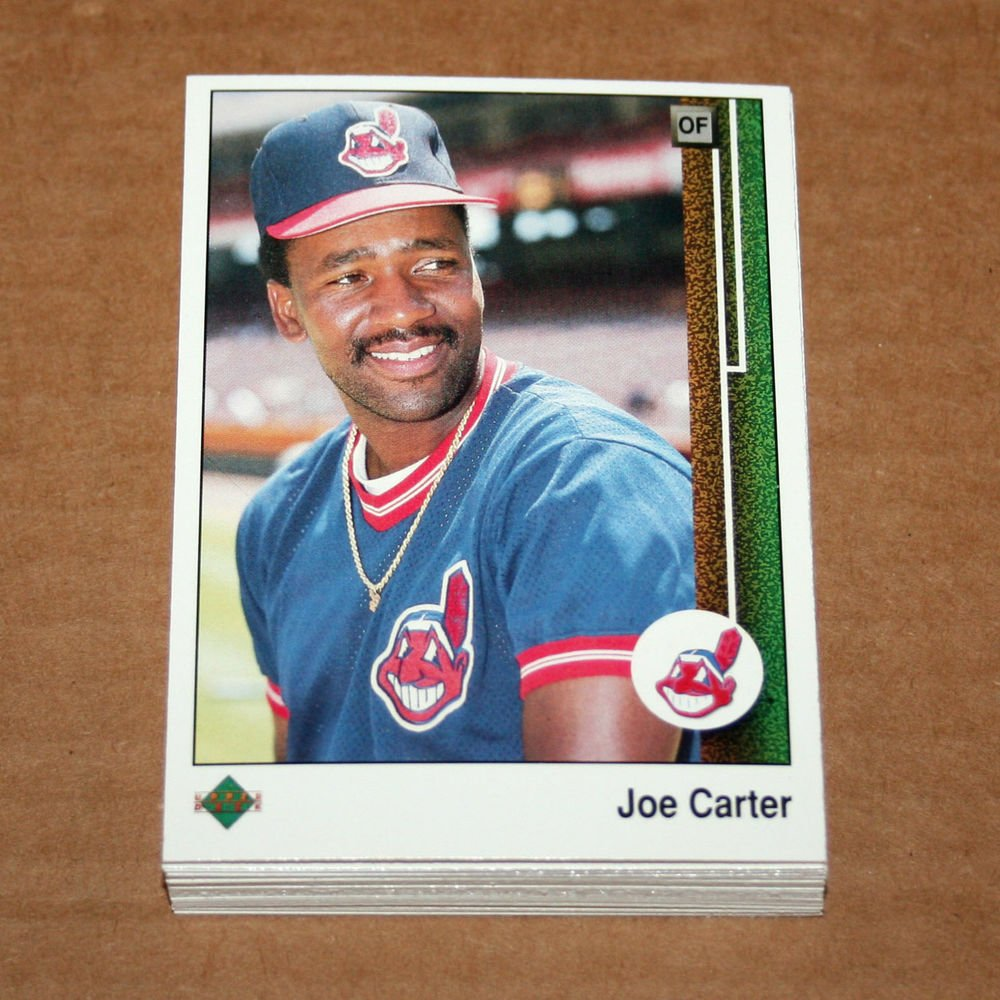 1989 UPPER DECK BASEBALL - Cleveland Indians Team Set + High Number Series