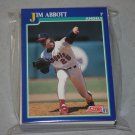 1991 SCORE BASEBALL - California Angels Team Set + Rookie & Traded Series