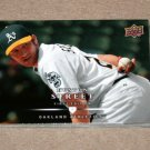 2008 UPPER DECK BASEBALL - Oakland A's Team Set (Series 1 & 2)