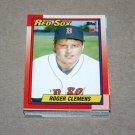 1990 TOPPS BASEBALL - Boston Red Sox Team Set + Traded Series