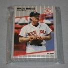 1989 FLEER BASEBALL - Boston Red Sox Team Set