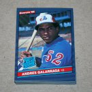 1986 DONRUSS BASEBALL - Montreal Expos Team Set