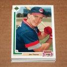 1991 UPPER DECK BASEBALL - Cleveland Indians True Team Set (Low/High/Final)