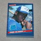1986 DONRUSS BASEBALL - Toronto Blue Jays Team Set