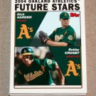 2004 TOPPS BASEBALL - Oakland Athletics Team Set (Series 1 & 2)