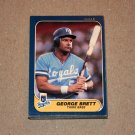 1986 FLEER BASEBALL - Kansas City Royals Team Set + Update Series
