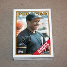 1988 TOPPS BASEBALL - Pittsburgh Pirates True Team Set