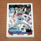1993 TOPPS BASEBALL - Atlanta Braves True Team Set with Traded Series