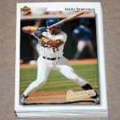 1992 UPPER DECK BASEBALL - Milwaukee Brewers Team Set + High Number Series