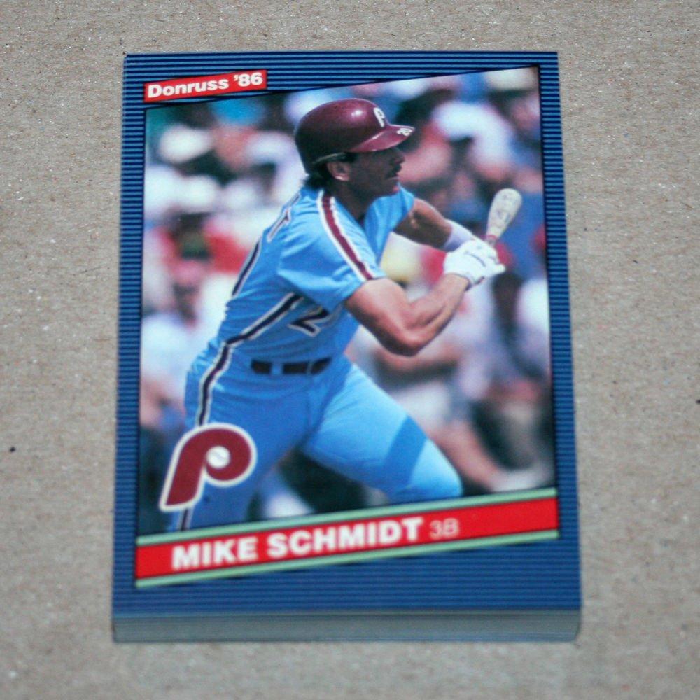 1986 DONRUSS BASEBALL - Philadelphia Phillies Team Set