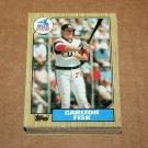 1987 TOPPS BASEBALL - Chicago White Sox Team Set + Traded Series