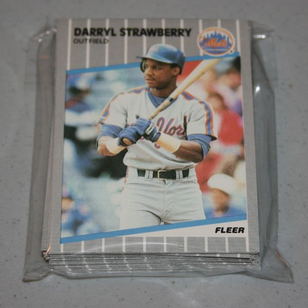 1989 FLEER BASEBALL - New York Mets Team Set