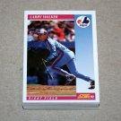 1992 SCORE BASEBALL - Montreal Expos True Team Set