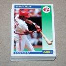 1992 SCORE BASEBALL - Cincinnati Reds Team Set + Rookie & Traded Series