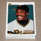 1992 UPPER DECK BASEBALL - Pittsburgh Pirates Team Set + High Number Series