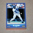 1988 SCORE BASEBALL - Kansas City Royals Team Set + Rookie & Traded Series