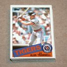 1985 TOPPS BASEBALL - Detroit Tigers Team Set + Traded Series