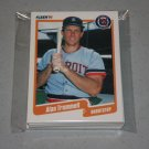 1990 FLEER BASEBALL - Detroit Tigers Team Set