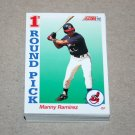 1992 SCORE BASEBALL - Cleveland Indians Team Set + Rookie & Traded Series