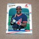 1988 FLEER BASEBALL - Cleveland Indians Team Set
