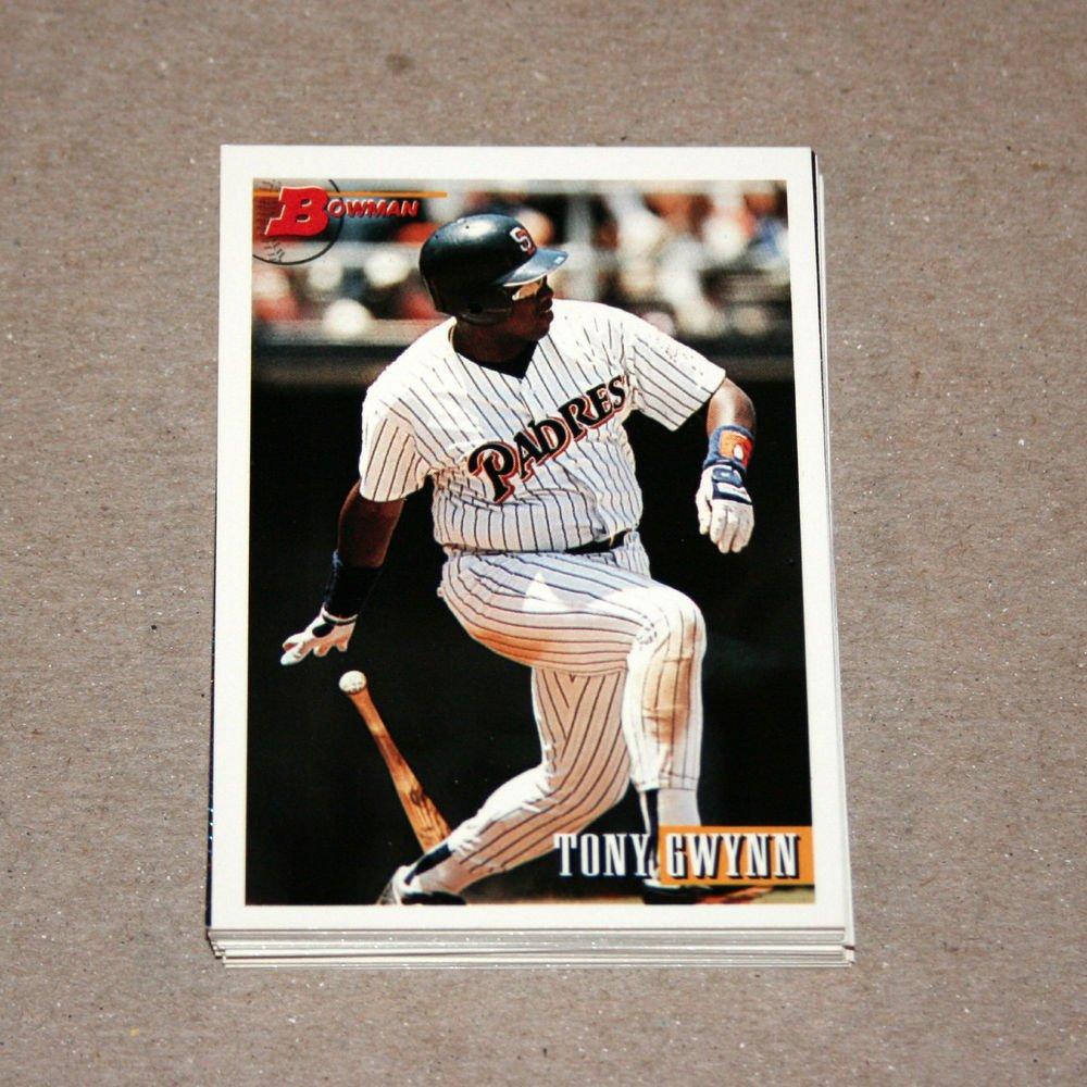 1993 BOWMAN BASEBALL - San Diego Padres Team Set