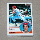 1983 TOPPS BASEBALL - Minnesota Twins Team Set + Traded Series