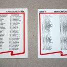 1990 FLEER BASEBALL - Checklist Set + Update Series