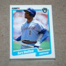1990 FLEER BASEBALL - Milwaukee Brewers Team Set + Update Series