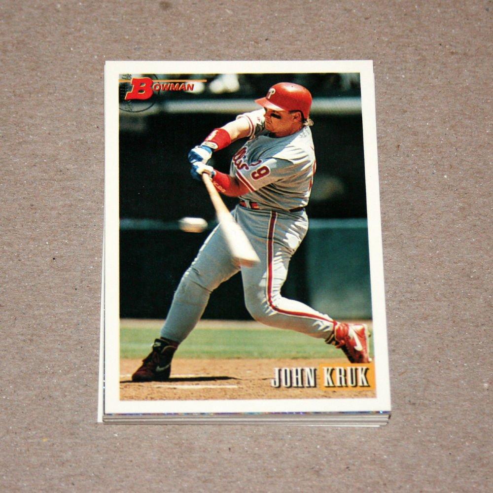 1993 BOWMAN BASEBALL - Philadelphia Phillies Team Set