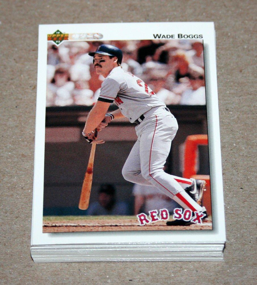 1992 UPPER DECK BASEBALL - Boston Red Sox Team Set + High Number Series