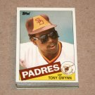 1985 TOPPS BASEBALL - San Diego Padres Team Set + Traded Series