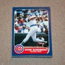 1986 FLEER BASEBALL - Chicago Cubs Team Set + Update Series