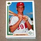 1991 UPPER DECK BASEBALL - Philadelphia Phillies True Team Set (Low/High/Final)