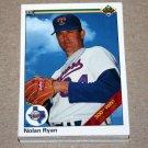 1990 UPPER DECK BASEBALL - Texas Rangers Team Set + High Number Series