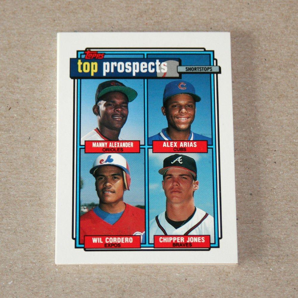 1992 TOPPS BASEBALL - Prospects Complete Sub-Set