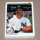 1990 UPPER DECK BASEBALL - New York Yankees Team Set + High Number Series