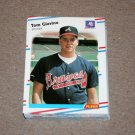 1988 FLEER BASEBALL - Atlanta Braves Team Set + Update Series