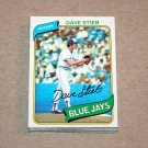 1980 TOPPS BASEBALL - Toronto Blue Jays Team Set