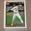 1991 TOPPS BASEBALL - Houston Astros Team Set + Traded Series