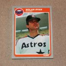 1985 FLEER BASEBALL - Houston Astros Team Set + Update Series