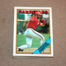 1988 TOPPS BASEBALL - St. Louis Cardinals Team Set + Traded Series