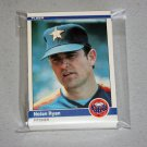 1984 FLEER BASEBALL - Houston Astros Team Set