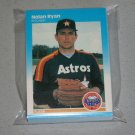 1987 FLEER BASEBALL - Houston Astros Team Set + Update Series