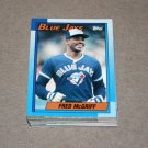 1990 TOPPS BASEBALL - Toronto Blue Jays Team Set + Traded Series