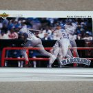 1992 UPPER DECK BASEBALL - Seattle Mariners Team Set + High Number Series