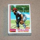 1982 TOPPS BASEBALL - Philadelphia Phillies Team Set + Traded Series
