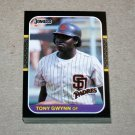 1987 DONRUSS BASEBALL - San Diego Padres Team Set