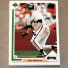 1991 UPPER DECK BASEBALL - San Francisco Giants True Team Set (Low/High/Final)