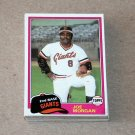 1981 TOPPS BASEBALL - San Francisco Giants Team Set + Traded Series